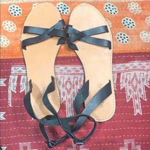 Madewell Boardwalk Sandals US8.5 Black